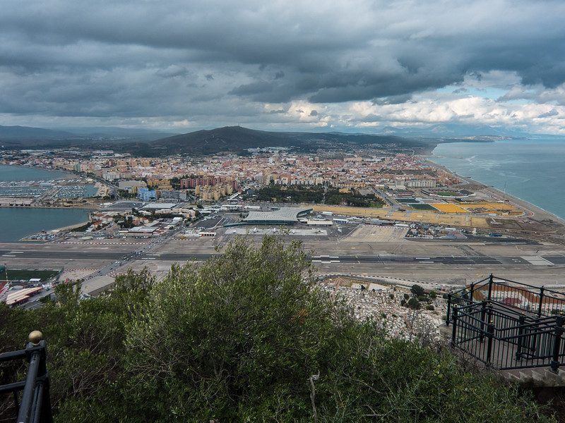 Gibraltar from the Rock
