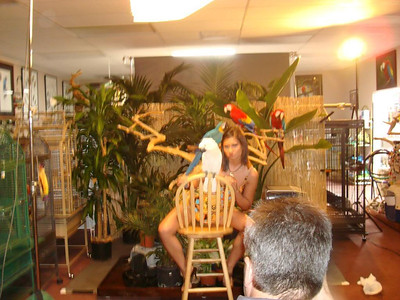 2nd Calendar Behind the scene Models at Parrot Perch Vancouver Washington