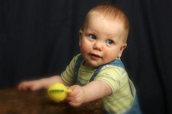 Alek at 9 months