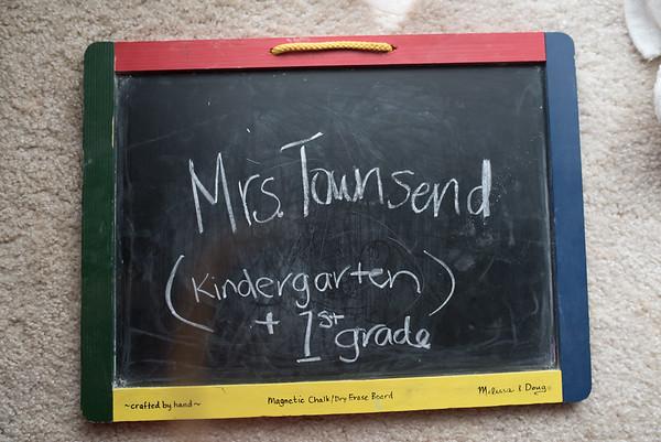 Mrs. Townsend - (Kindergarten & 1st)