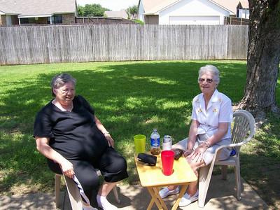 Grandma visits Big D - July 2007