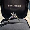 Vintage 6-prong Tiffany Mounting, Platinum 13