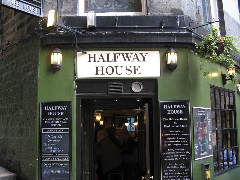A pub of distinction, they serve local wild boar sausage.