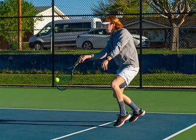 2019-04-13 Dixie HS Tennis - Chandler Mills