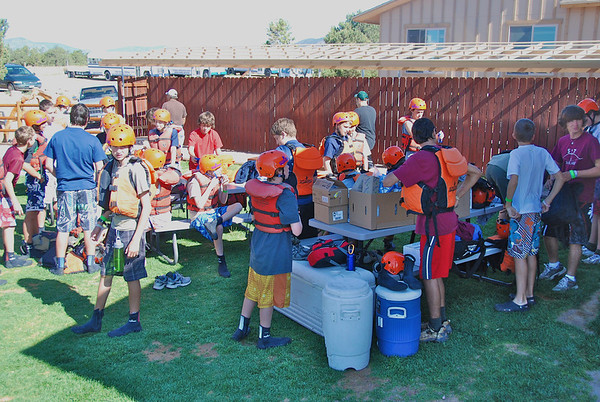 Summer Camp - Rafting and Royal Gorge Excursion