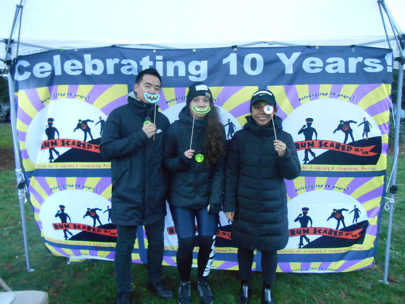Photo booth, volunteers