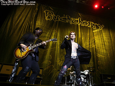 Buckcherry <br> October 5, 2009  <br> TD Banknorth Garden - Boston, MA <br> Photos By: Mary Ouellette