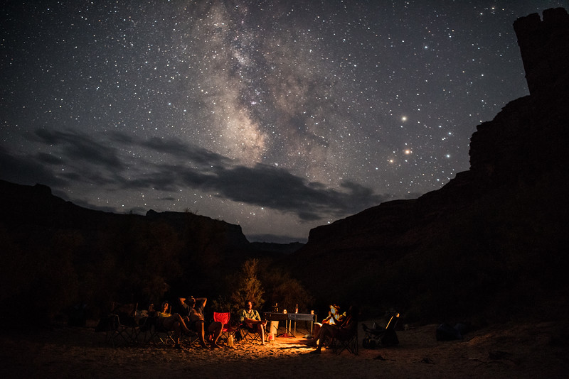 Milky Way in the Grand Canyon