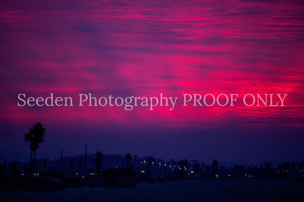 California Sunsets and Sunrises