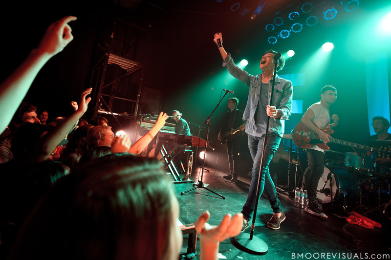 Andrew Dost, Nate Harold, Nate Ruess, Jack Antonoff, and Will Noon of fun. perform duing a sold-out show in support of Some Nights on March 7, 2012 at State Theatre in St. Petersburg, Florida