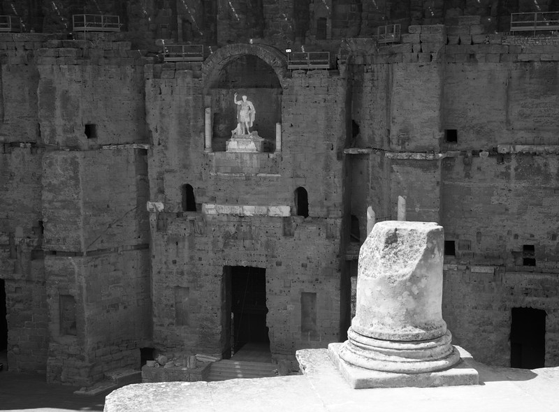 Orange Roman Theater, one of the best preserved anywhere.