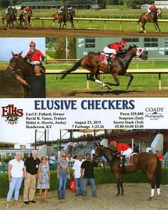 ELUSIVE CHECKERS - 8/23/2015