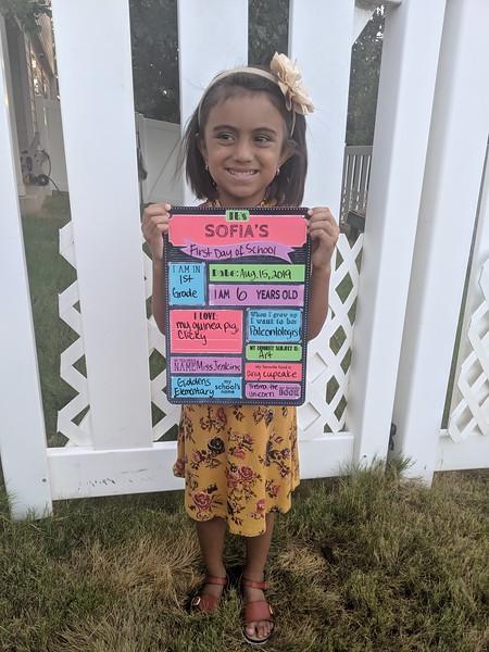 Sofia | 1st grade | Giddens Elementary