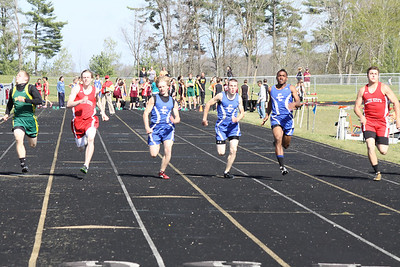 Girl's 100 Meters - 2012 Mid Mich Invite