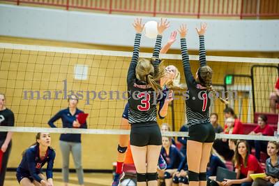 Volleyball SHS vs SFHS 9-29-2015