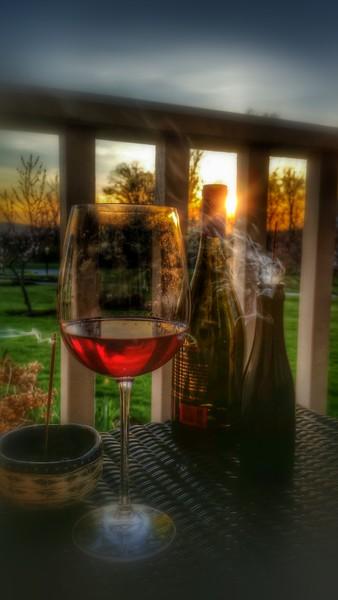 Wine porch