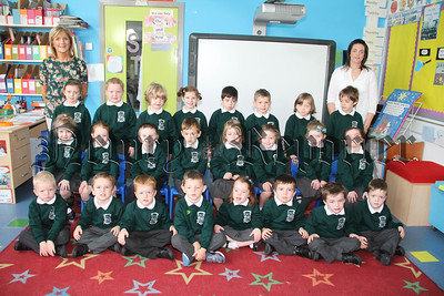 PRIMARY 1 PUPILS AT CARRICK PS BURREN