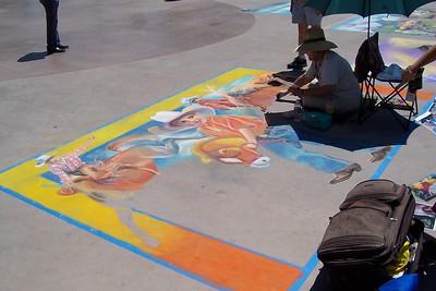 Chalk Art Festival June 17 2007 Downtown Reno