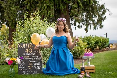 Katie turns 40