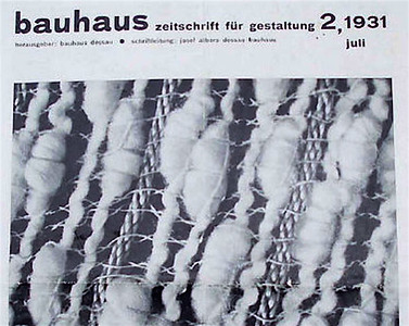 Gunta Stölzl - The Development of the Bauhaus Weaving Workhop, 1931
