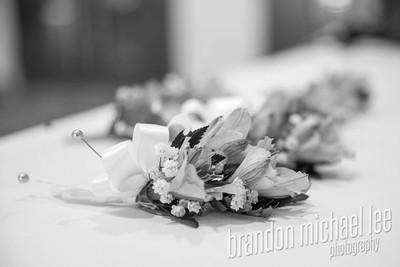 September 10th, 2016 Wedding B&W