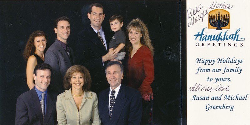 1999?Michael and his family.
