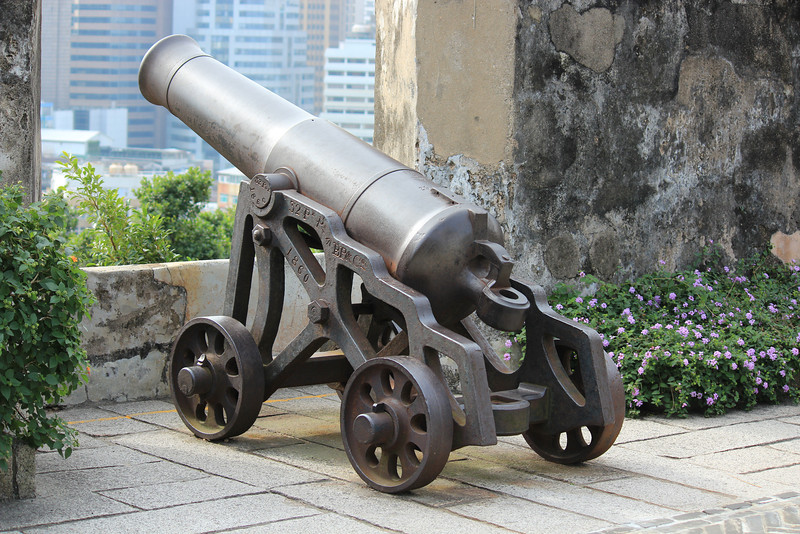Cannon at Monte Fort, Macau