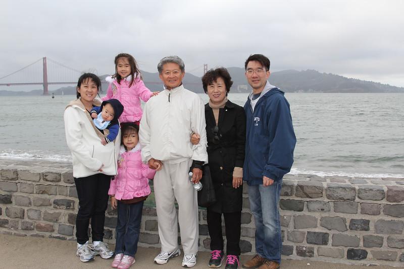 Park Family San Francisco (April 2014)