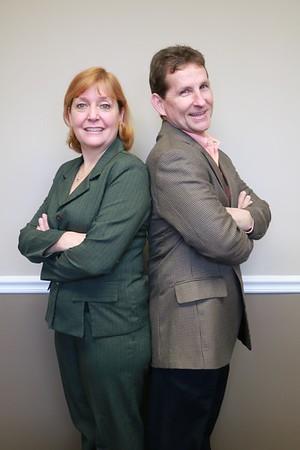 Cathy & Brian {headshots]