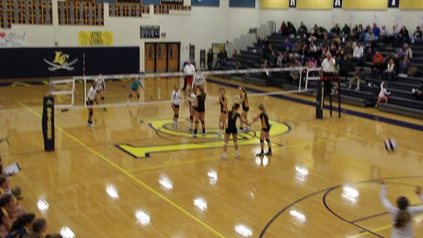Girls Volleyball: Dulles Finals - Potomac Falls at Loudoun County