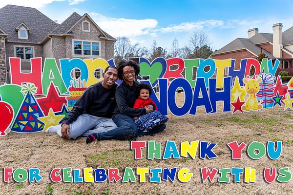 Noah's 1st Birthday
