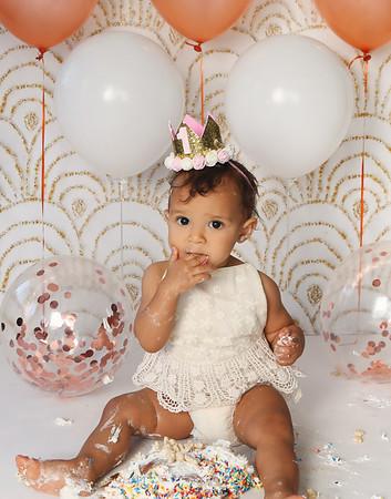 Amalia's 1st Birthday Session