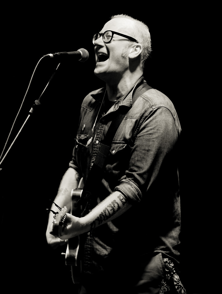 "11/14/11 - Mike Doughty @ Beachland Ballroom 11/13/11<br /> <br /> f2.8  1/40  400<br /> <br /> Very lucky day yesterday. Volunteered to photograph Mike Doughty ( <a href=""http://www.youtube.com/watch?v=NSNuqX3EY70"">http://www.youtube.com/watch?v=NSNuqX3EY70</a> ) at a small private radio station show in the morning. <br /> <br /> I asked his tour manager if I could have a photo pass for his big evening show at Beachland Ballroom. He said yes and I got what I expected, very difficult shooting conditions. Definitely improved on my manual mode skills.<br /> <br /> Photographing Will Hoge ( <a href=""http://www.youtube.com/watch?v=i0EIxUWO_0M&ob=av2e"">http://www.youtube.com/watch?v=i0EIxUWO_0M&ob=av2e</a> ) and Red Wanting Blue ( <a href=""http://www.youtube.com/watch?v=6oKYlAV3hbc"">http://www.youtube.com/watch?v=6oKYlAV3hbc</a> ) Tuesday."