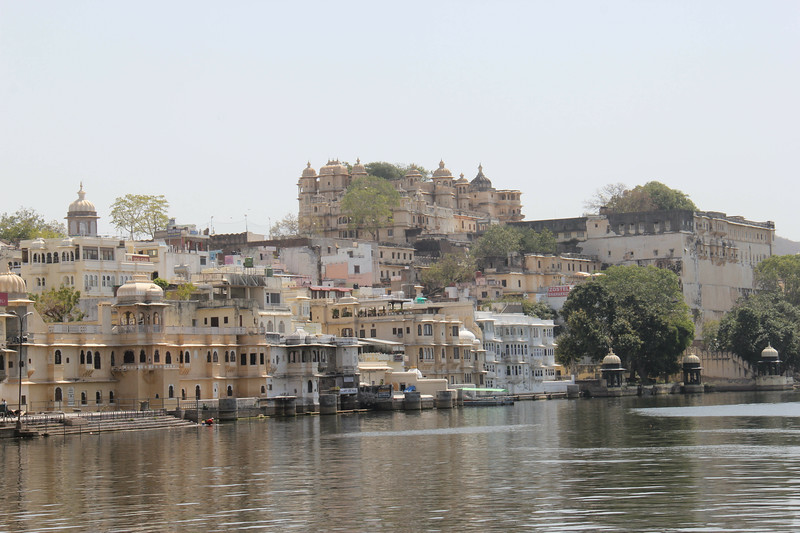 River front in Udaipur, India