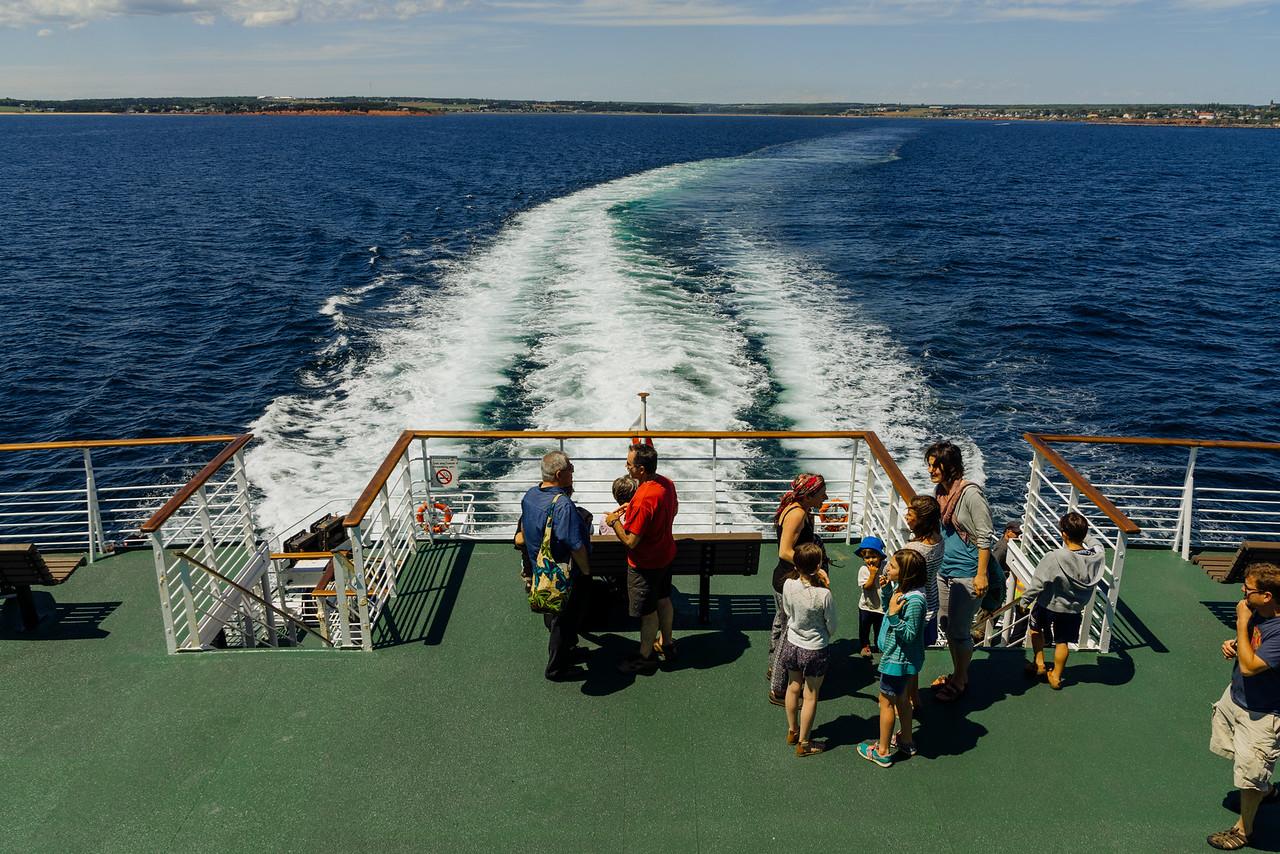 Départ de Souris vers les Iles-de-la-Madeleine