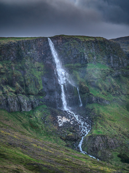 Iceland Black Falls  Photography by Wayne Heim