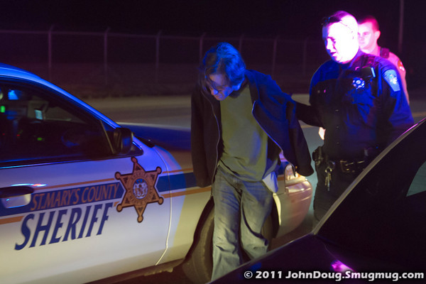 2011 03-26 Arrest on Side of Road with U-Haul