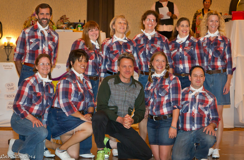 Perfect Cowboy Cloggers and Ken Roht