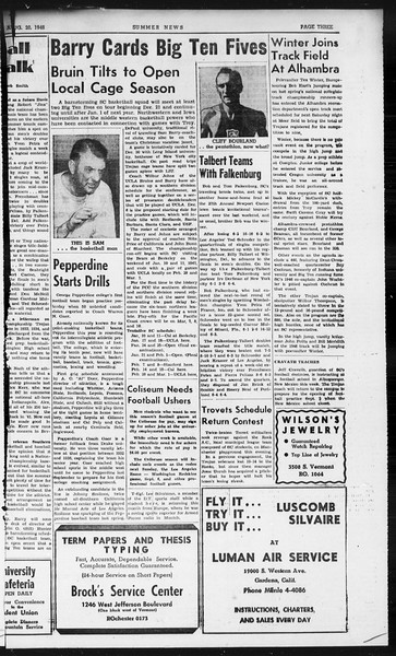 Summer News, Vol. 1, No. 22, August 20, 1946