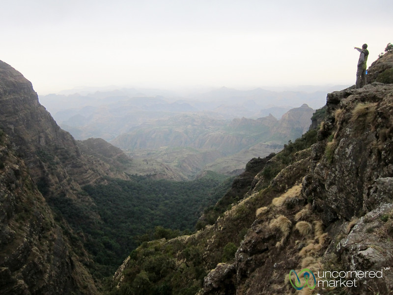 Dan in the Simien Mountains of Ethiopia