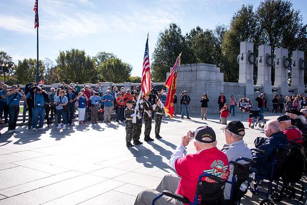 WW II Memorial October 2015