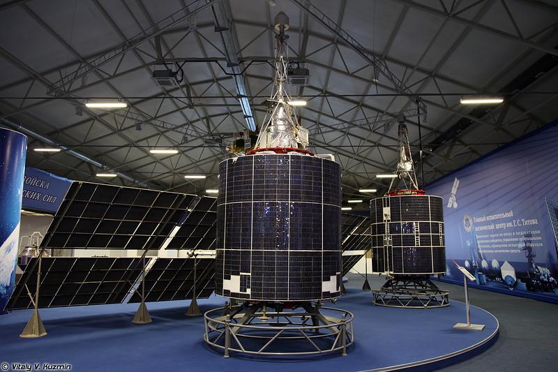 Космический аппарат 11Ф627 Парус (11F627 Parus spacecraft)