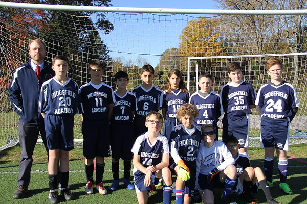Grade 6/7 Boys Soccer