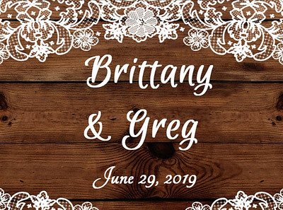 29-06-2019 ~ Brittany and Greg's Wedding