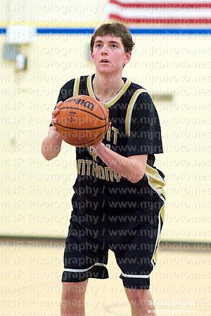 Kellenburg Vs St Anthonys, Boys JV Basketball 01.15.10