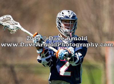 4/24/2014 - Boys Varsity Lacrosse - Brookline vs Acton-Boxborough