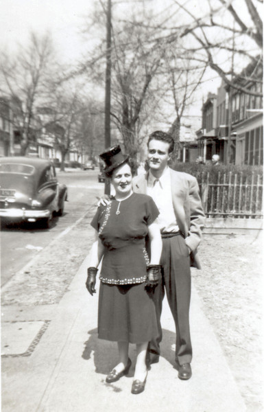 Nanny and Uncle Lou 1947