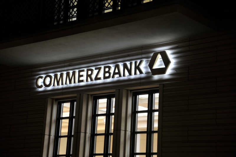 Commerzbank offices near Brandenburg Gate, Berlin.