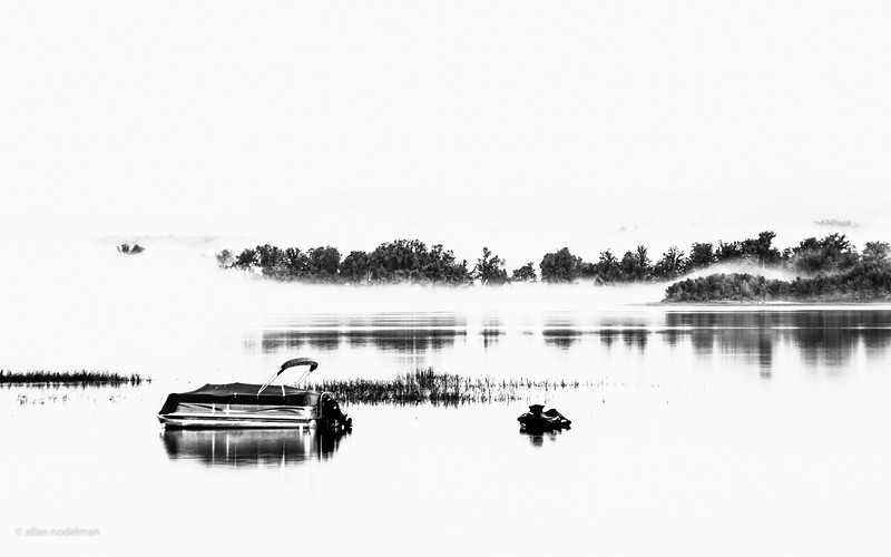 Foggy Early Morning on the Ottawa River
