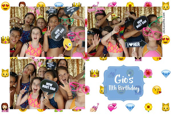 Gio's 11th Birthday Party